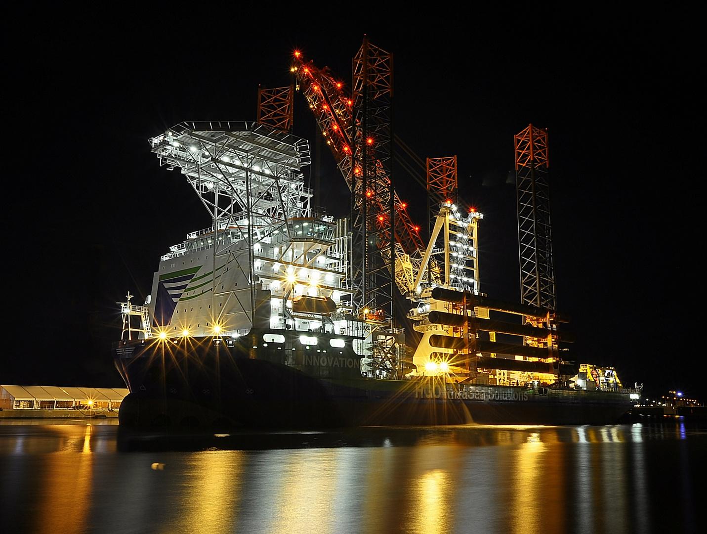 """die """"Innovation"""" - was für ein Arbeitsschiff"""