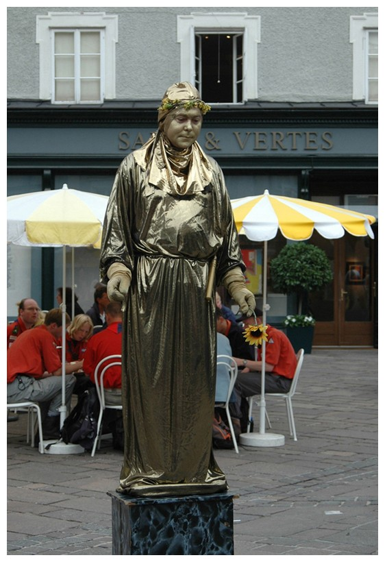 Die interessanteste Statue ...