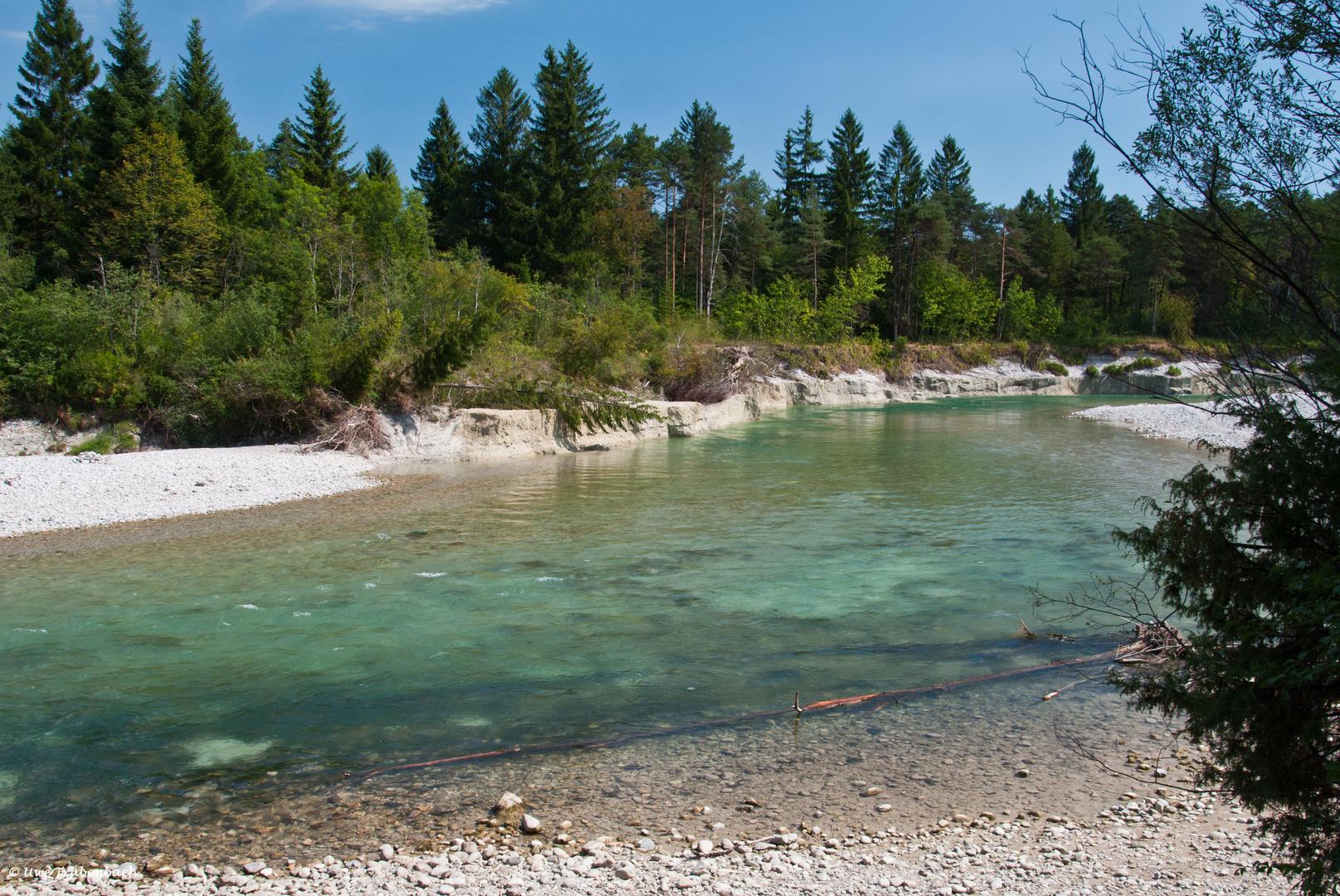 Die Isar bei Wolfratshausen (1)
