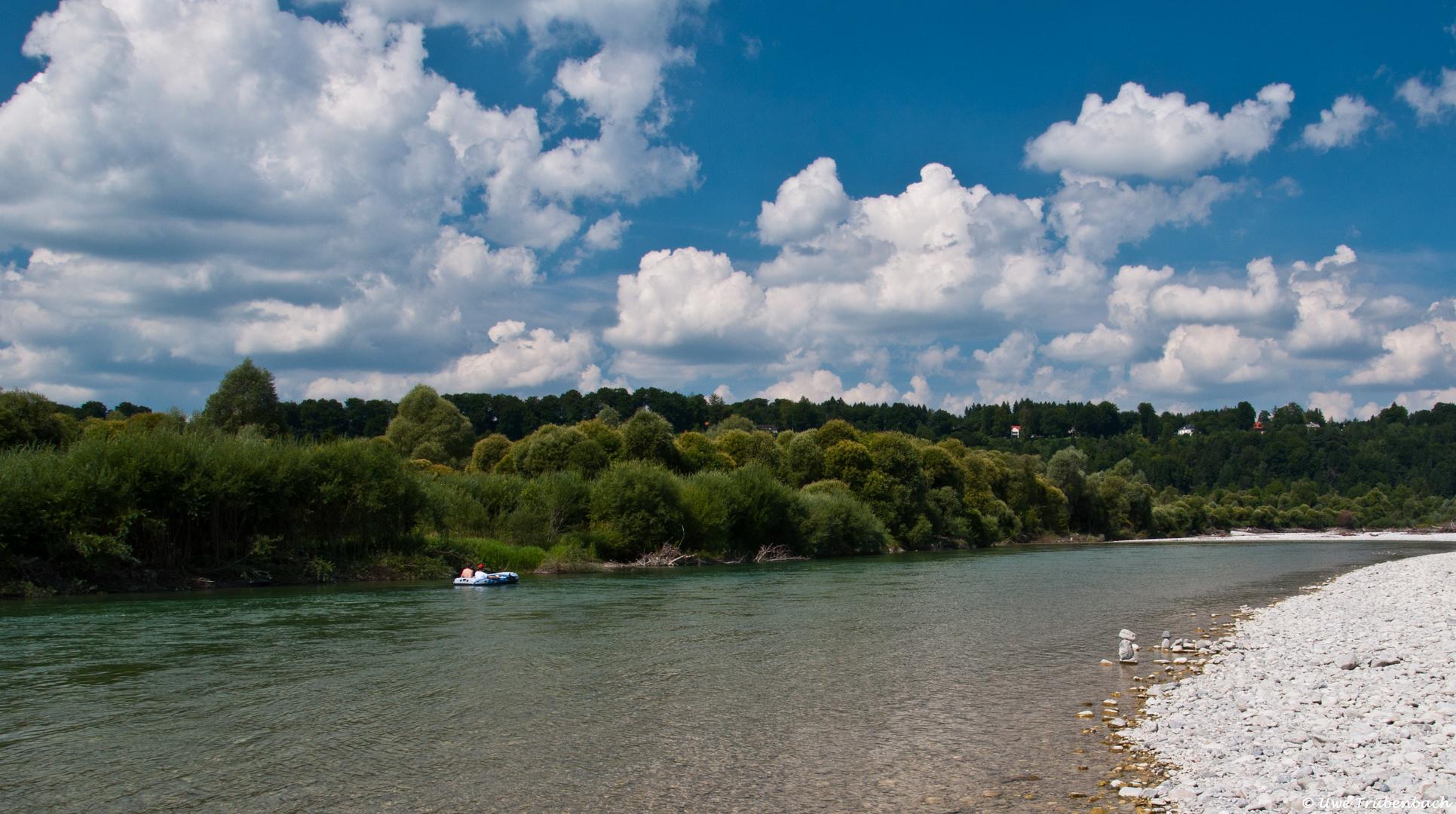 Die Isar bei Wolfratshausen (2)