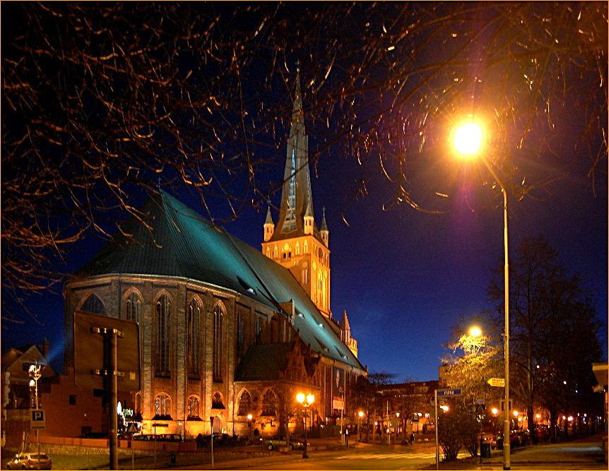 die Jakobikirche in Stettin