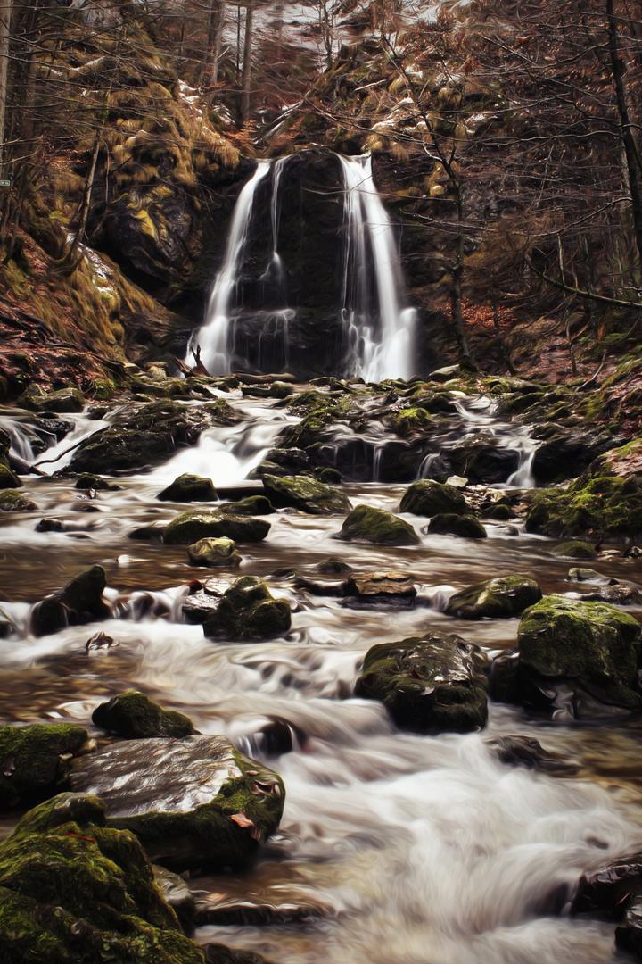 Die Josefstaler Wasserfälle