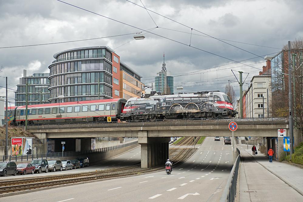 die Jubellok in München
