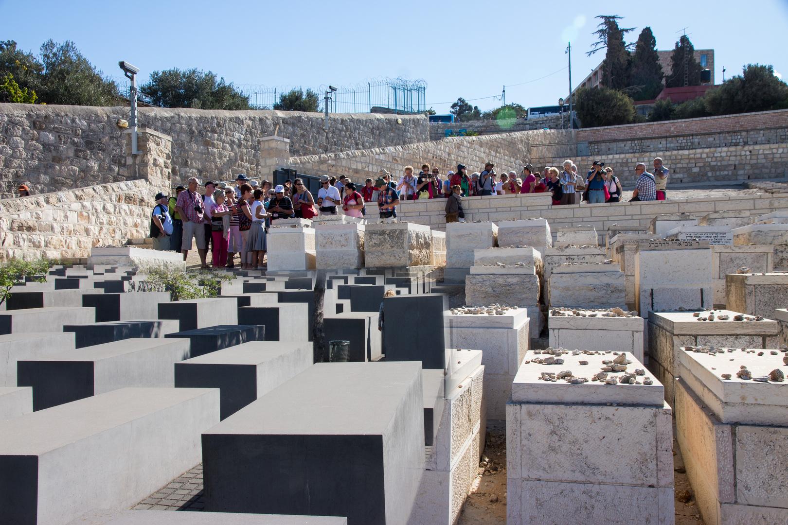 Die jüdischen Gräber zum Gedenken - in Jerusalem und Berlin