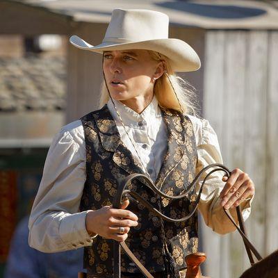 Die junge Frau des Sheriffs