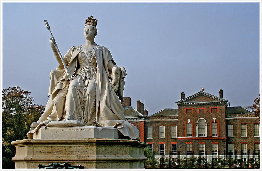 Die junge Queen Victoria im Kensington Park