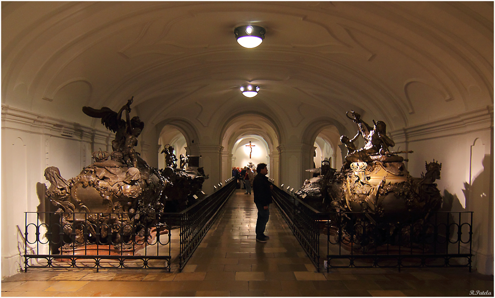 Die Kaisergruft in Wien...