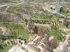 Die Kalksteinfelsen von Kapadokien - Türkei