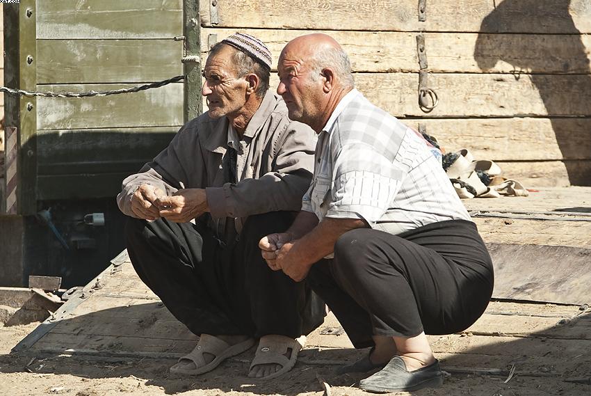 Die Kamel-Händler