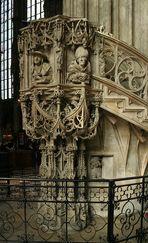 Die Kanzel des Stephansdoms