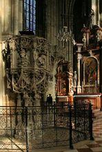 Die Kanzel im Stephansdom