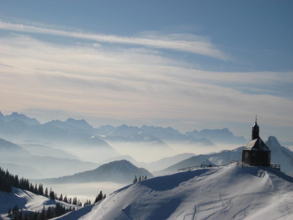 Die Kapelle am Berg