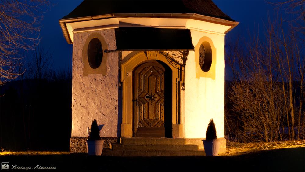Die Kapelle an der Anlegstelle Sondern im Sauerland