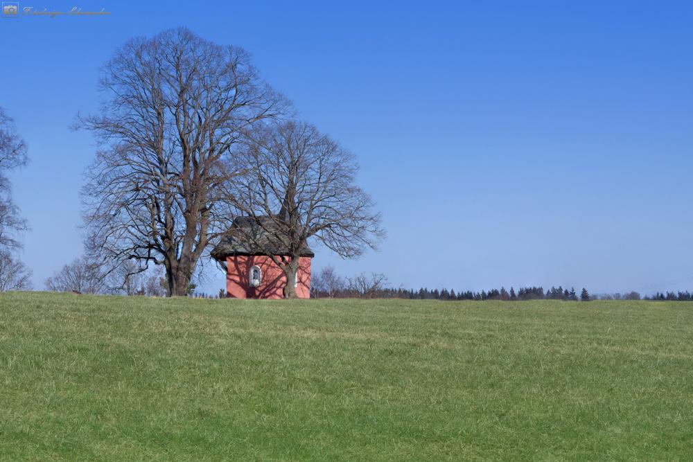 Die Kapelle auf dem Hexenberg