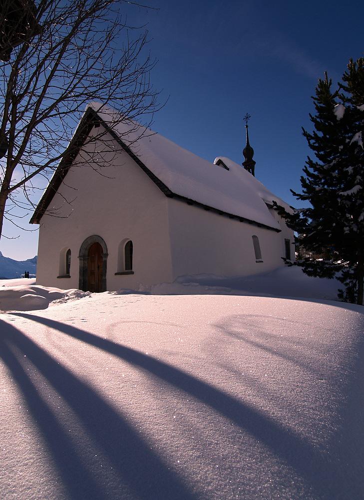 Die Kapelle auf der Riederalp