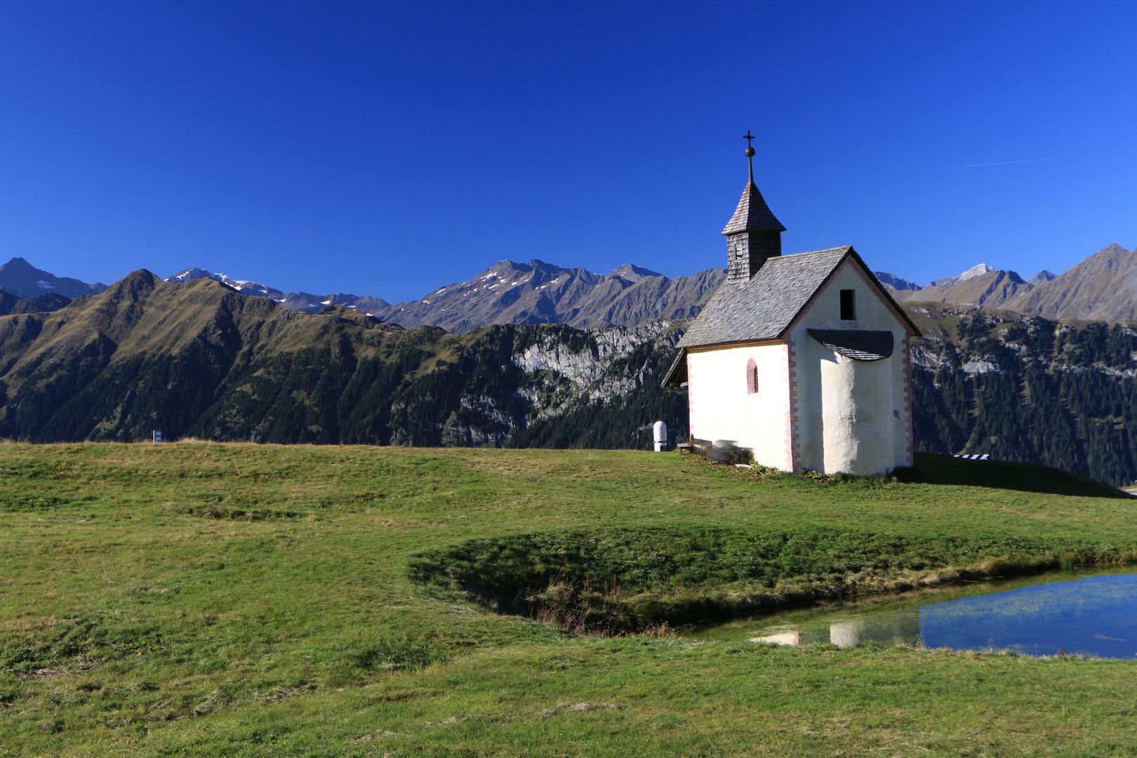 """Die Kapelle """"Maria Heimsuchung"""" am Jaufenpass"""