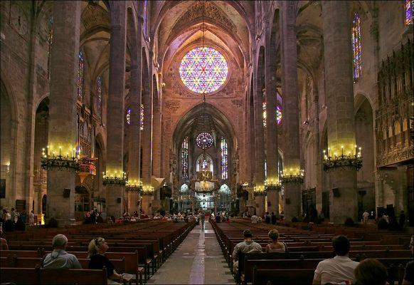 """Die Kathedrale """"La Seu"""" in Palma de Mallorca"""