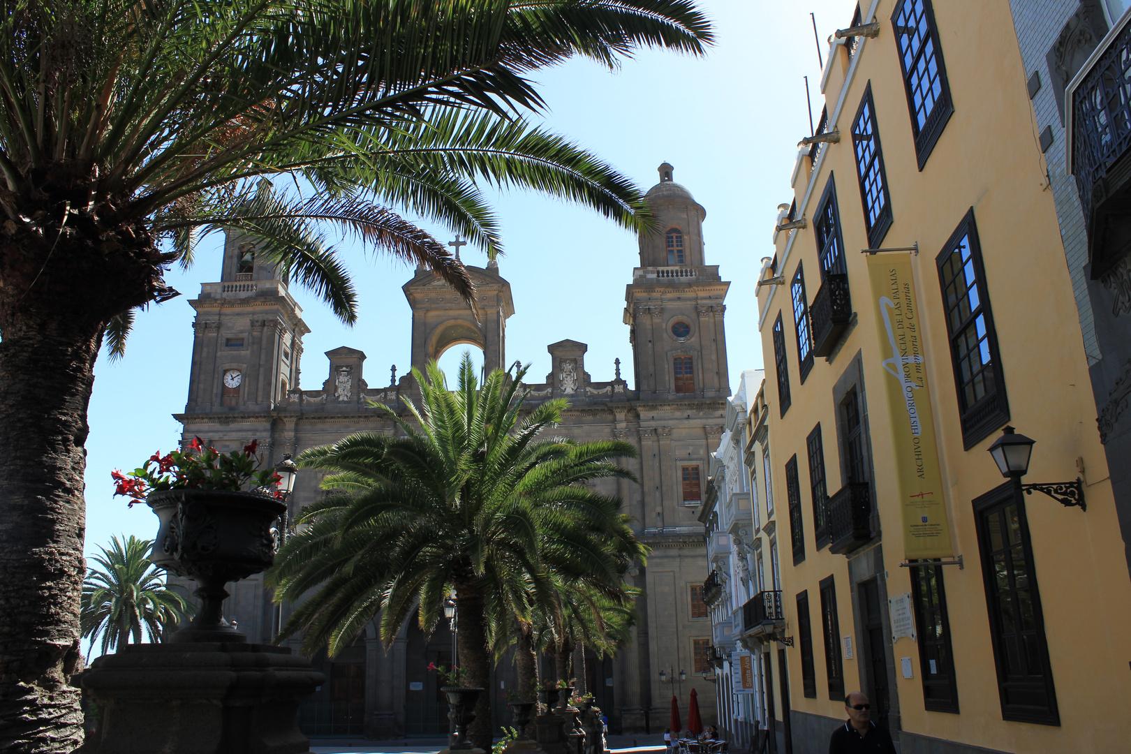 Die Kathedrale Santa Ana in Las Palmas