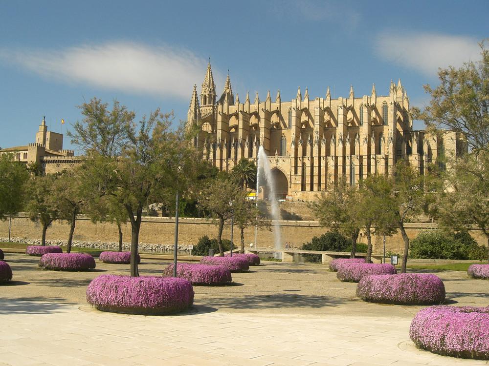Die Kathedrale von Palma de Mallorca