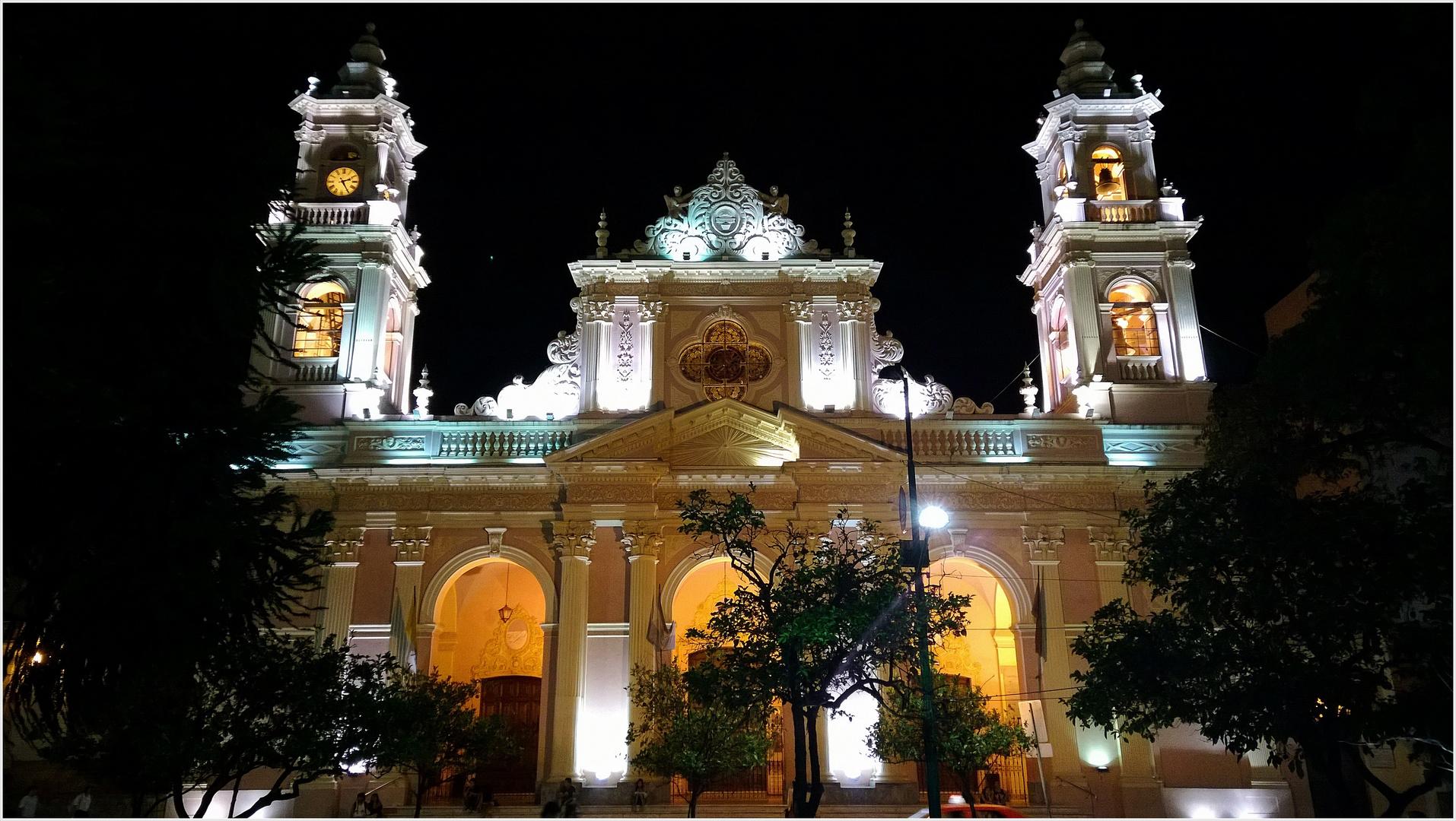 die Kathedrale von Salta......................