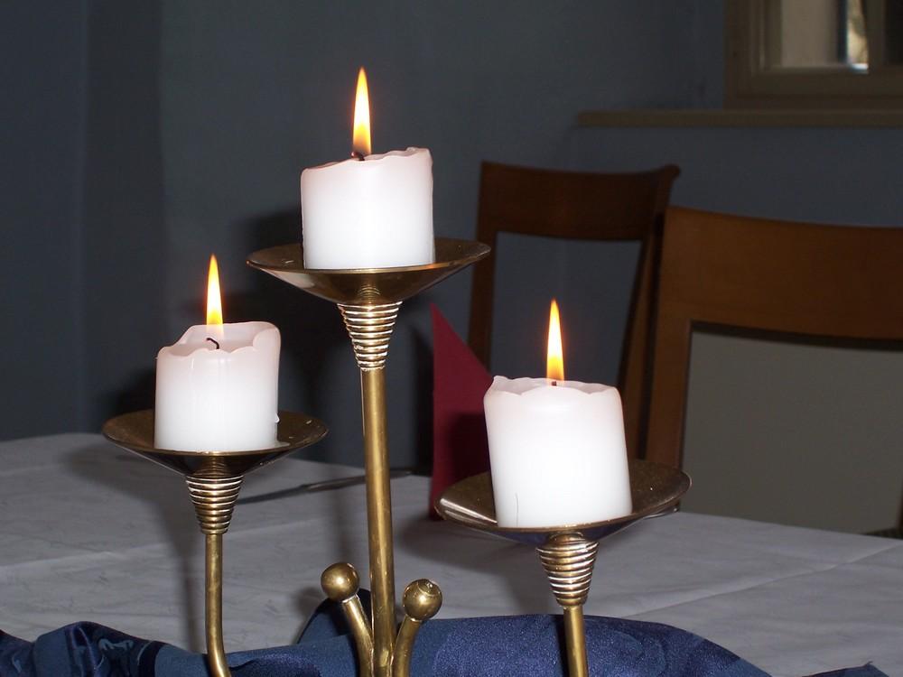 die Kerzen von ...