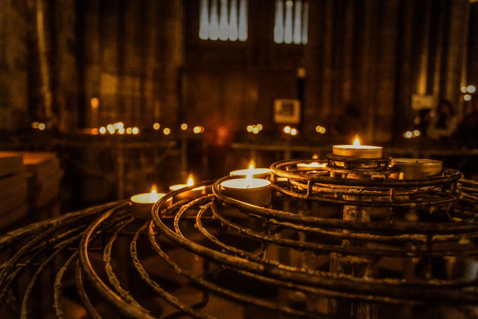 Die Kerzen von Notre Dame