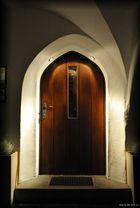 Die Kippe vor der Tür