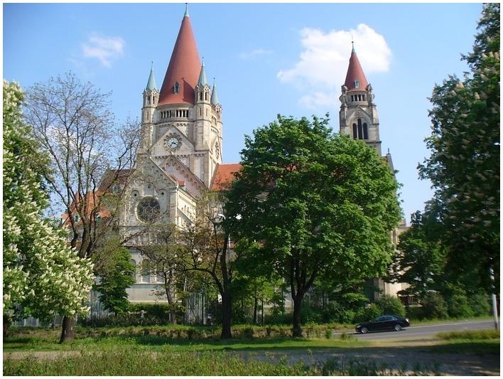 Die Kirche am mexikanischen Platz...