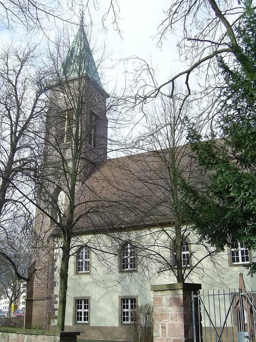 """""""""""""""Die Kirche hinter den Bäumen"""""""""""""""