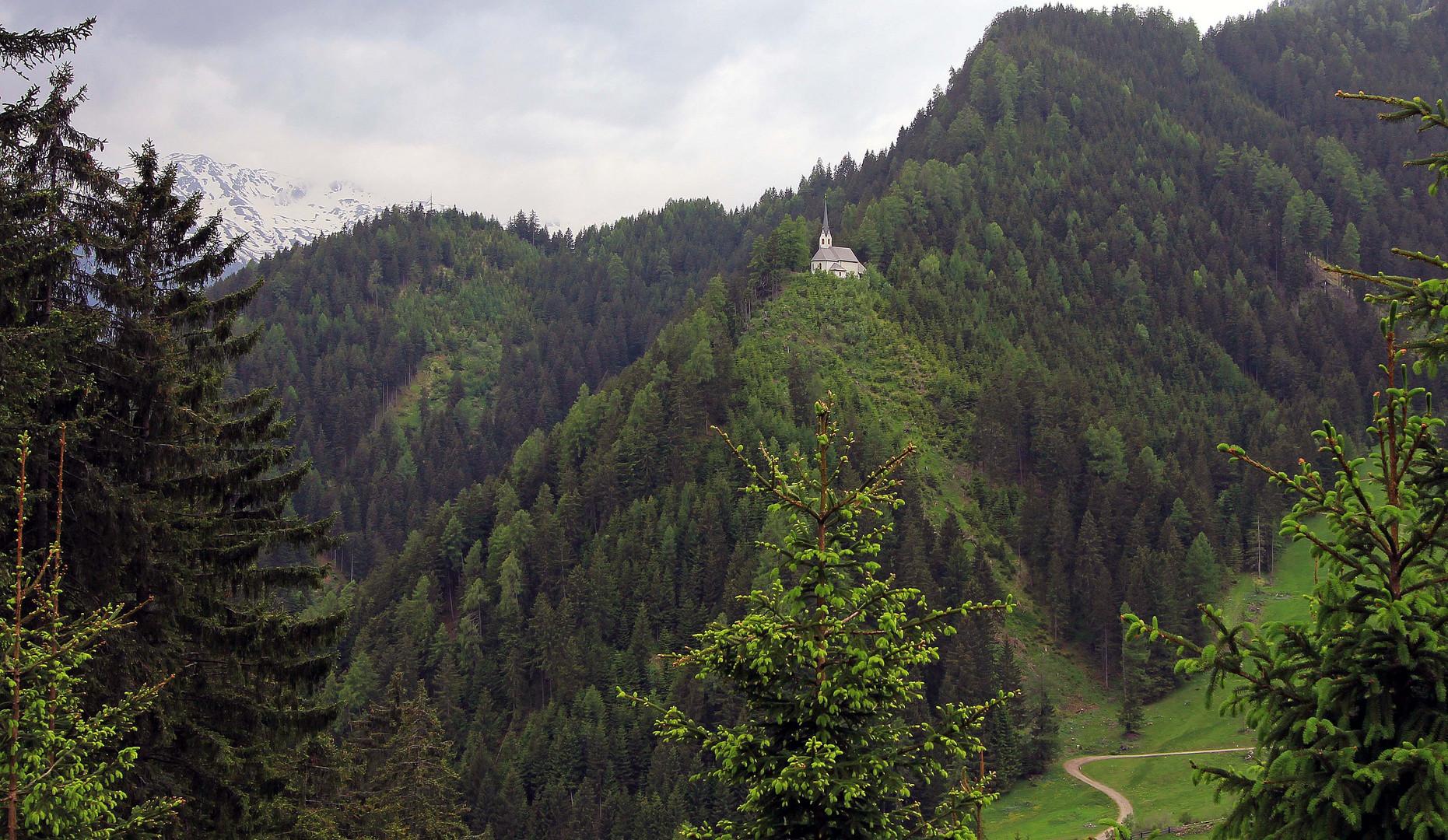 Die Kirche im Wald