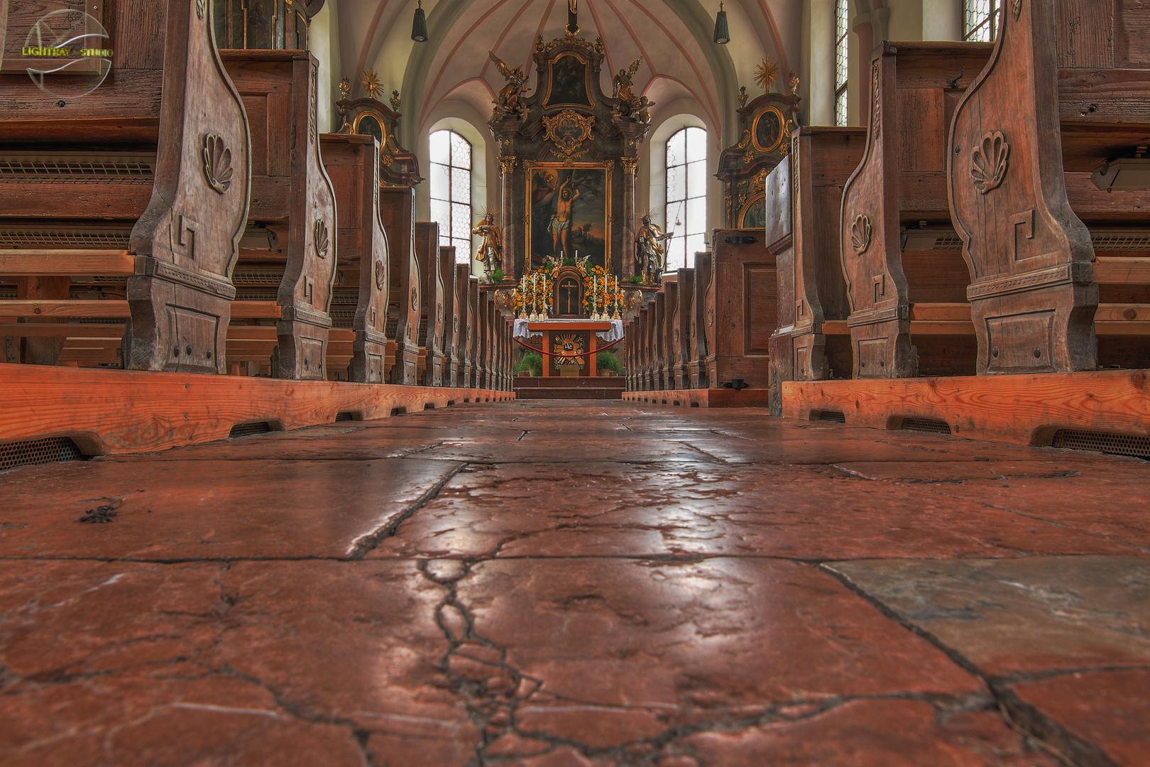 Die Kirche in Ramsau