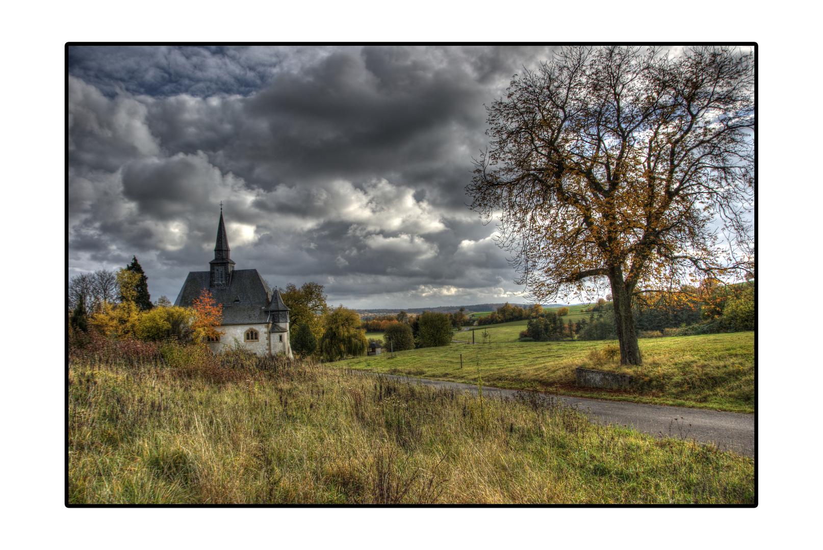 Die Kirche ohne Dorf! Eckweiler.