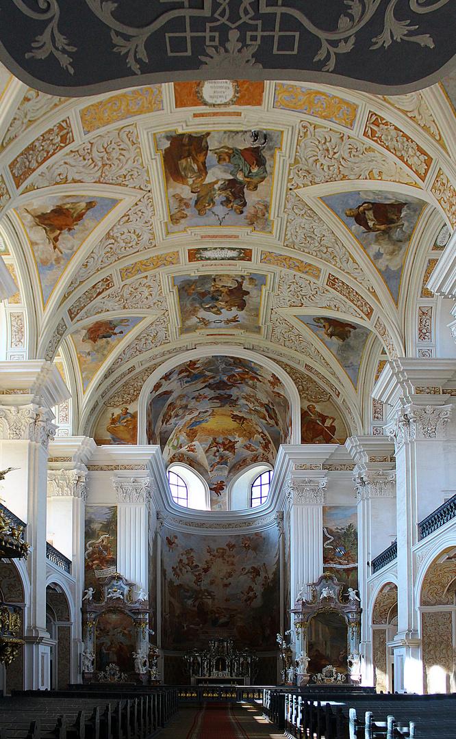 Die Kirche St. Joseph in Krzeszow ( Grüssau)