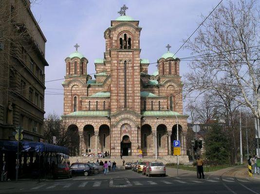 die Kirche St.Marko in Belgrad