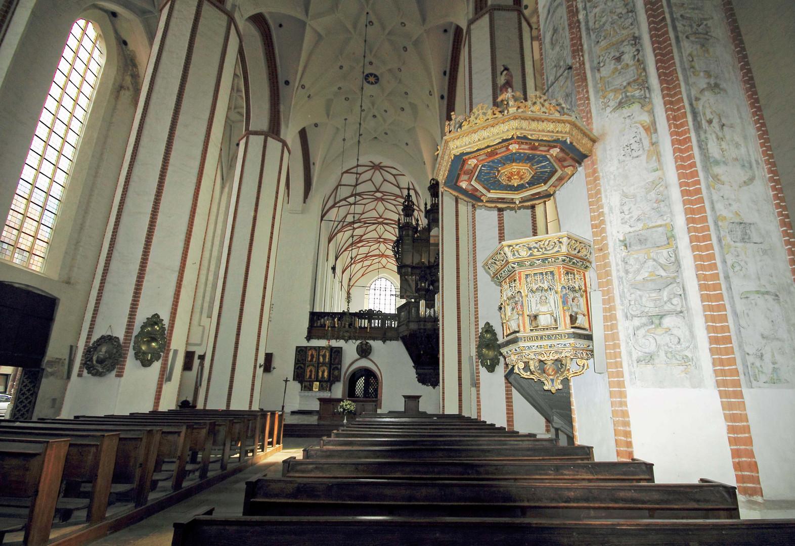 Die Kirche Trinitatis in Danzig - Gdansk