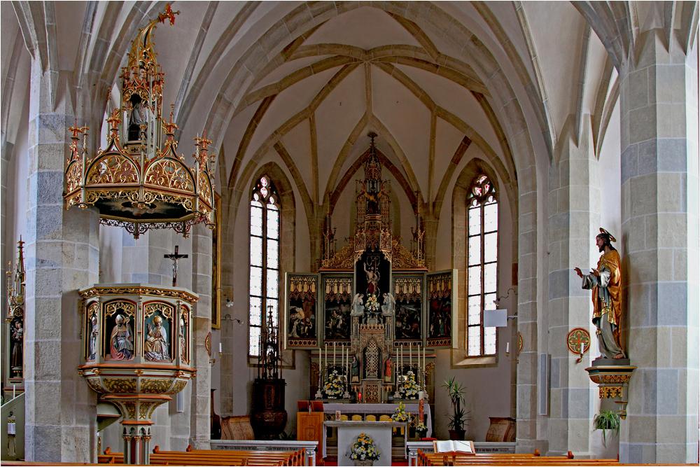 die Kirche von Aldein