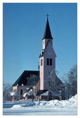 Die Kirche von Arjeplog