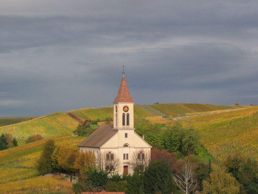 Die Kirche von Auggen