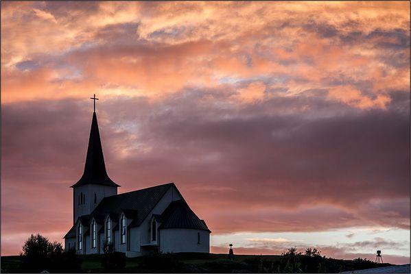 Die Kirche von Borgarnes