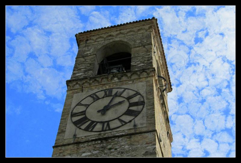 Die Kirche von Gardano Riviera