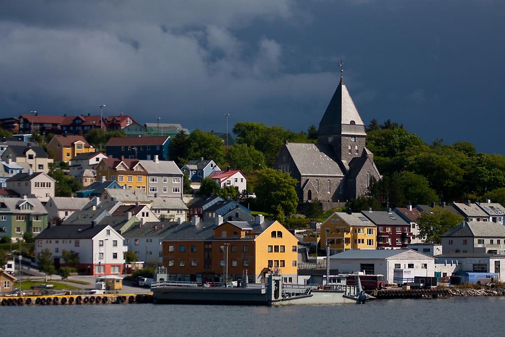 Die Kirche von Kristiansund
