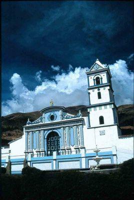 Die Kirche von Mucuchies