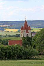 Die Kirche von Oberoppurg