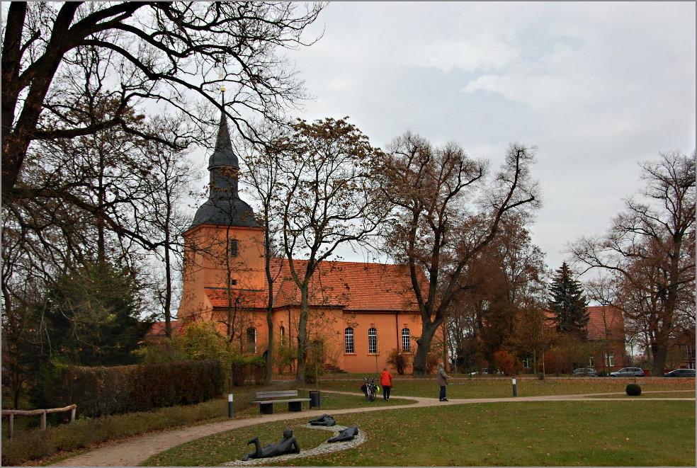 die Kirche von Ribbeck