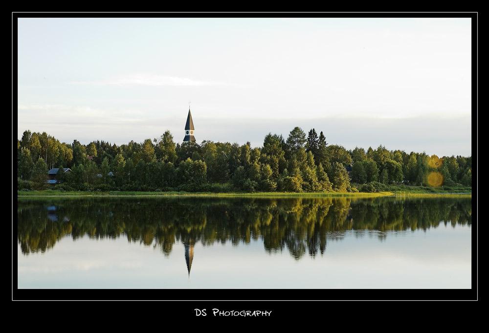 Die Kirche von Särna am Österdalälv