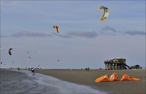 die kitesurfer