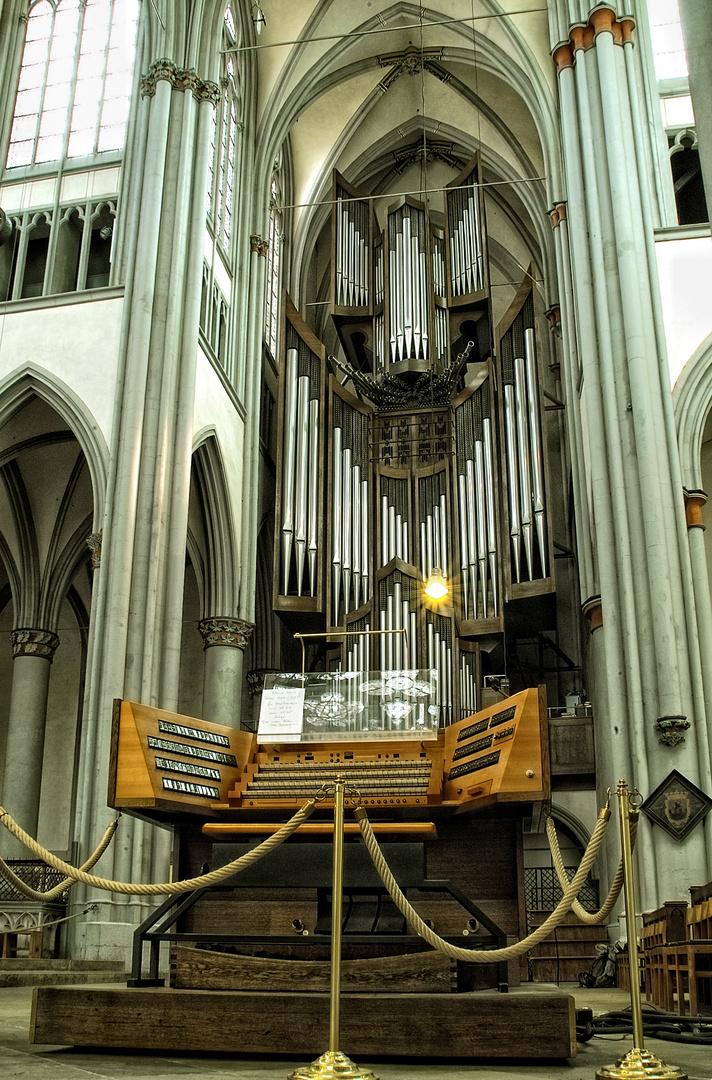 Die Klais-Orgel im Altenberger Dom