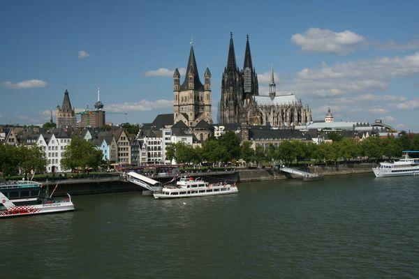 die klassische Köln-Ansicht