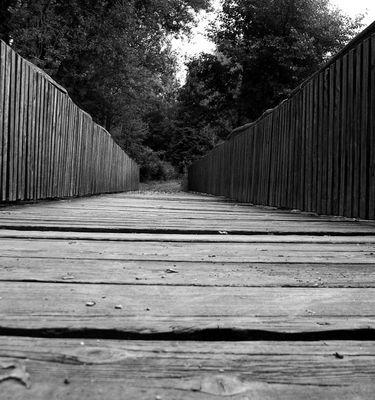 die kleine Brücke ...
