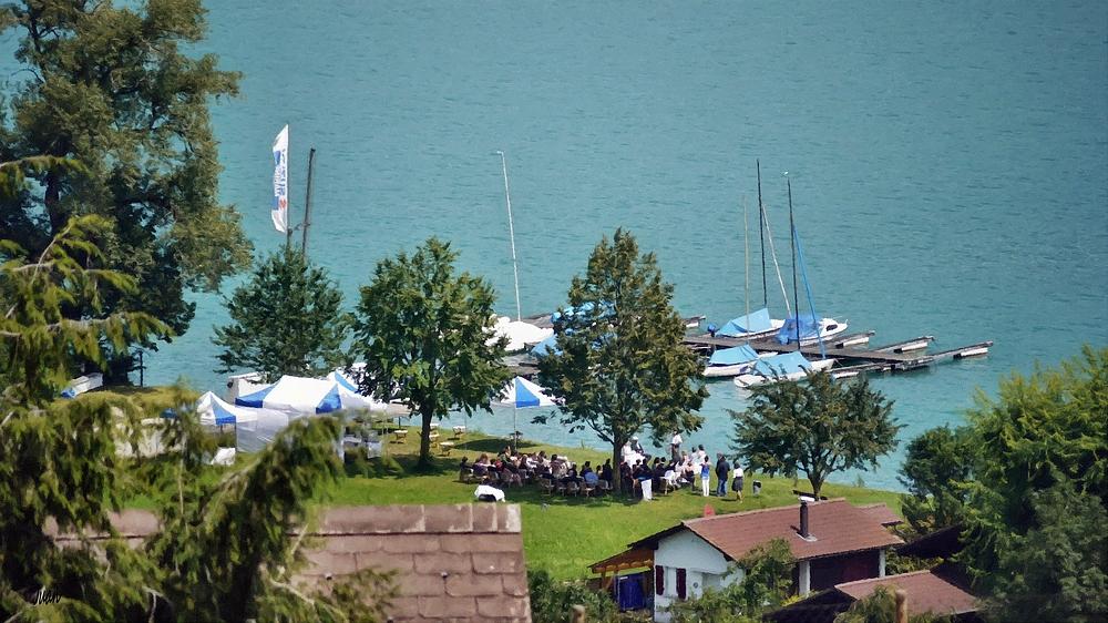 die kleine Hochzeit am See